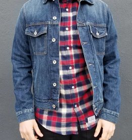 One Year Indigo Wash Denim Jacket