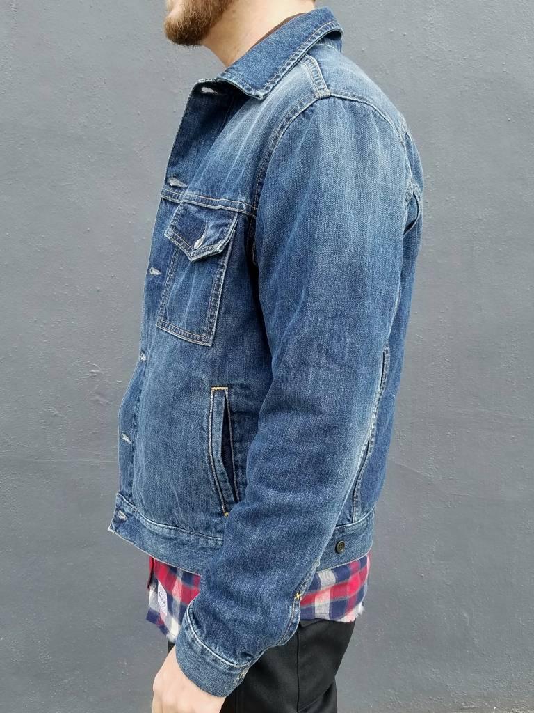 One Year Indigo Wash Denim Jacket