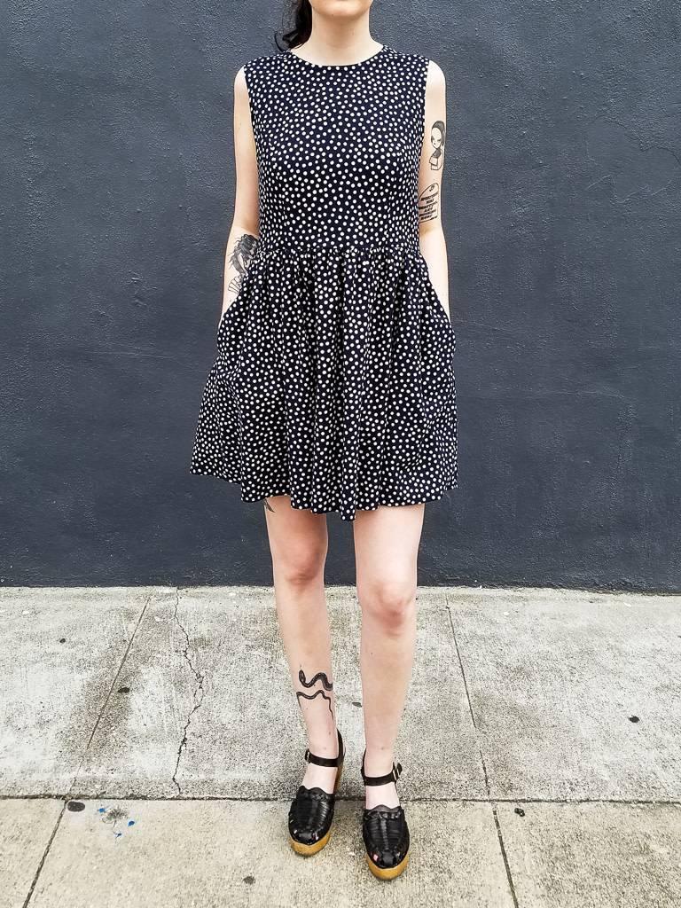 Jamie Lau Designs Dotted Princess Seam Dress