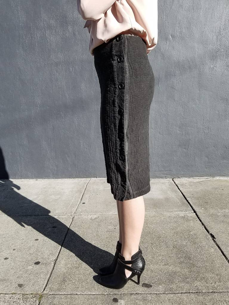 Brielle Side Button Skirt