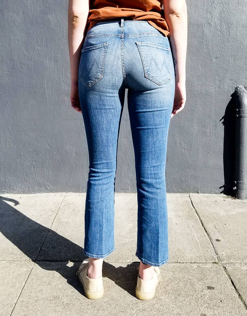 Mother Denim Insider Ankle Jeans