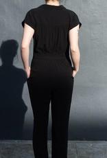 Front Button Jumpsuit