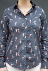 Roller Skater Buttonup Shirt