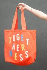 Togetherness Big Canvas Tote Bag
