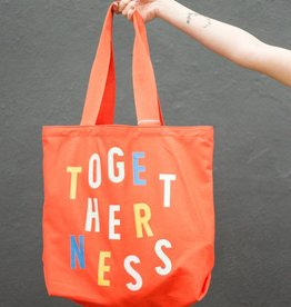 Togetherness Big Canvas Tote Bag