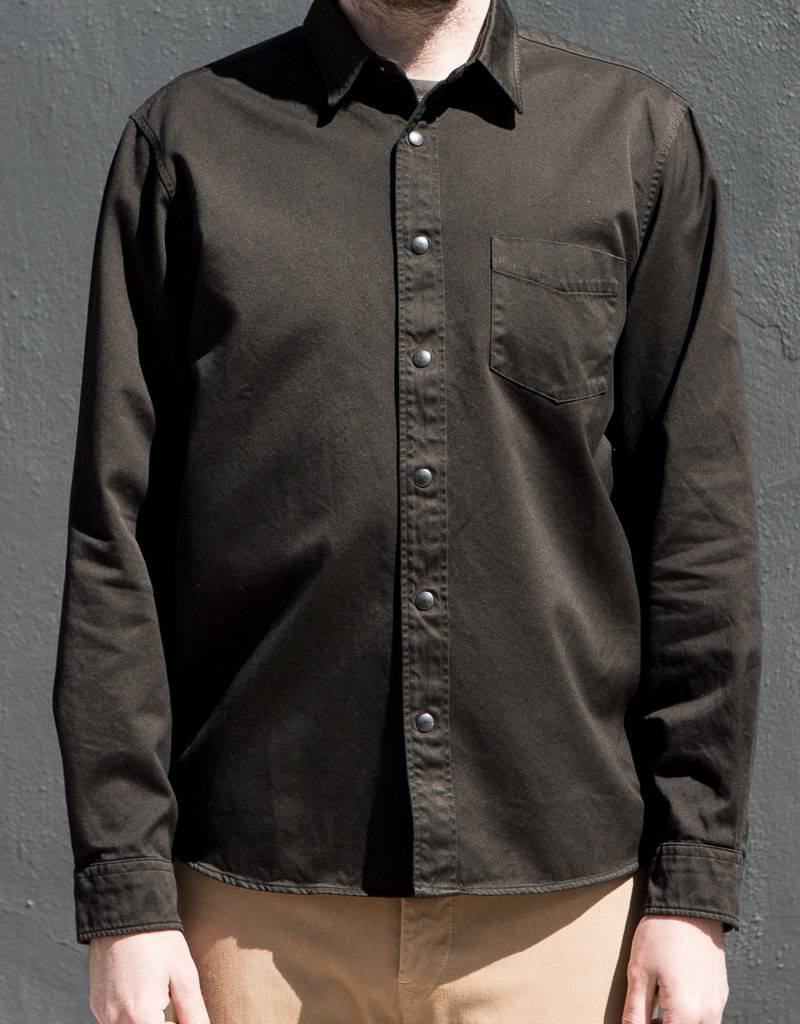 Snap Front Overshirt- More Colors