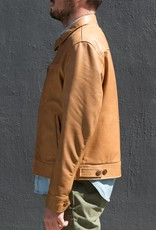 Schott NYC Leather Trucker Jacket