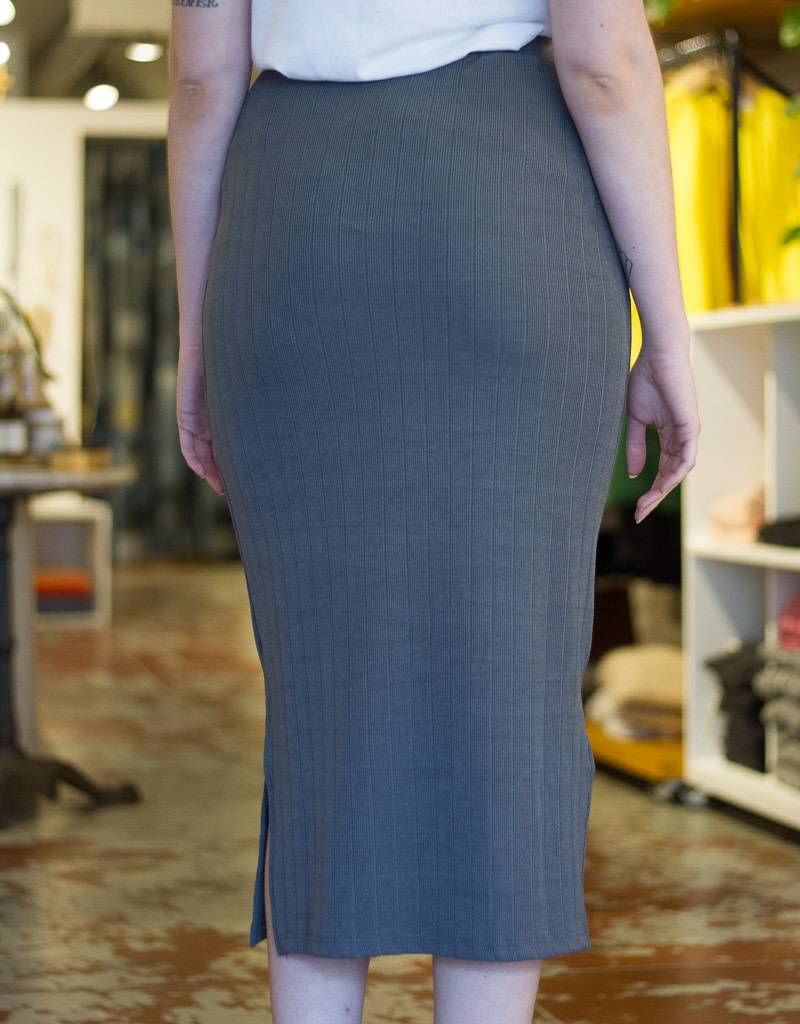 Alton Ribbed Tube Skirt