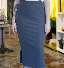 Alton Ribbed Tube Skirt