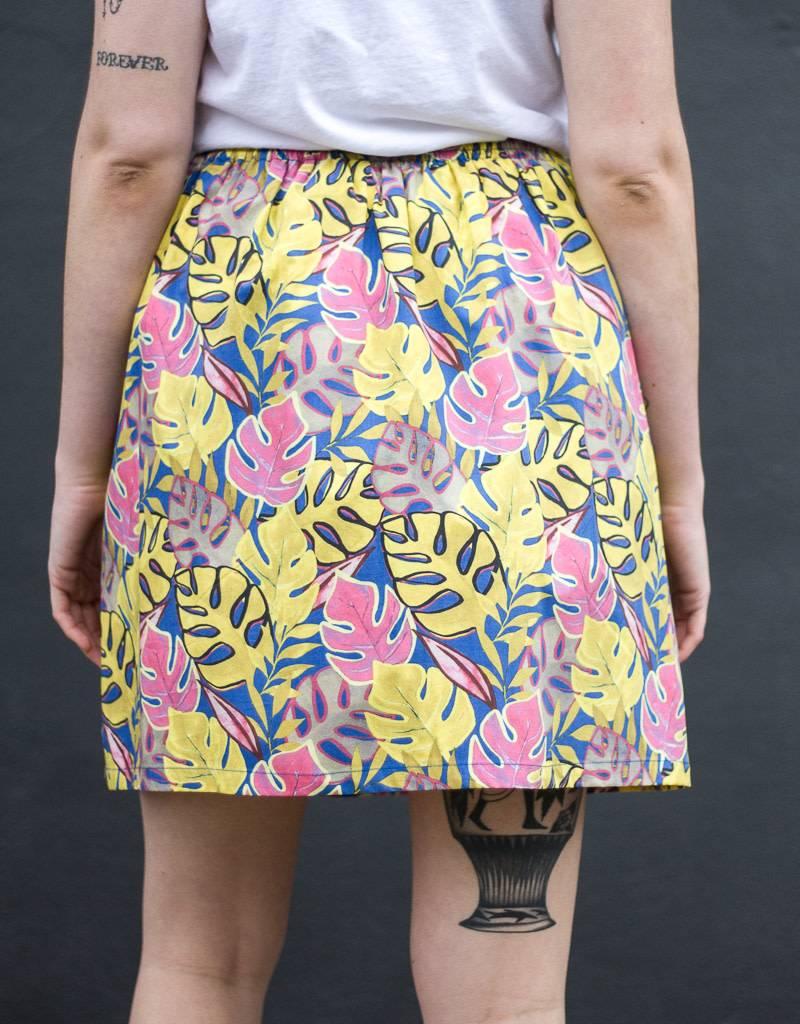 0039 Italy Bonita Print Skirt