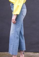 Mother Denim Roller Crop Fray Jeans