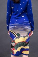 LSD Celestial Jacquard Knit Dress