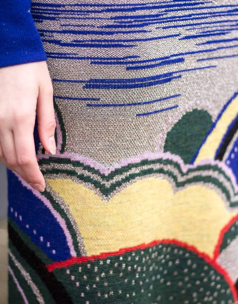 Replica LSD Celestial Jacquard Knit Dress