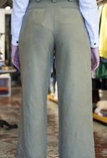 Acote Wide Leg Khaki Pants