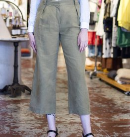 Wide Leg Khaki Pants