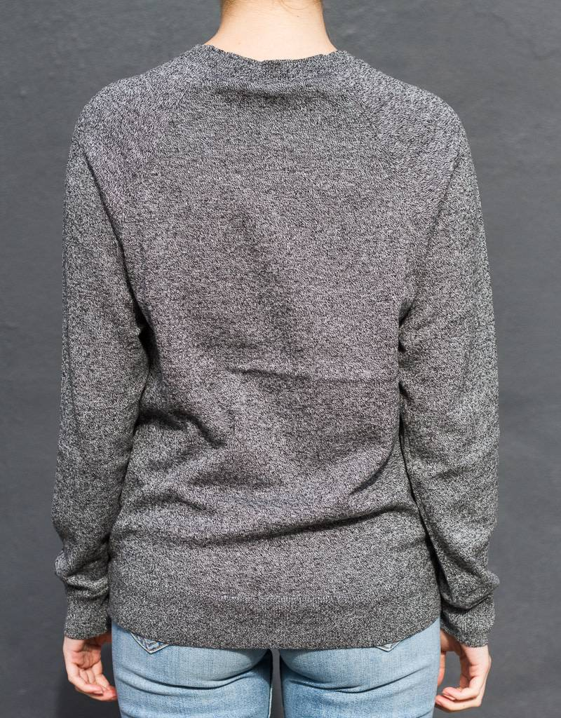 Safety Pin Sweater in Marled Grey