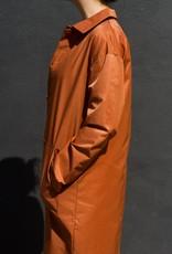 Acote Hidden Placket Trench Coat