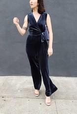 Just Female Clara Velvet Jumpsuit