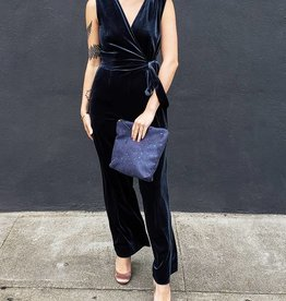 Just Female Clara Velvet Jumpsuit