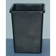 Grodan Pot Square Black Rose Bucket