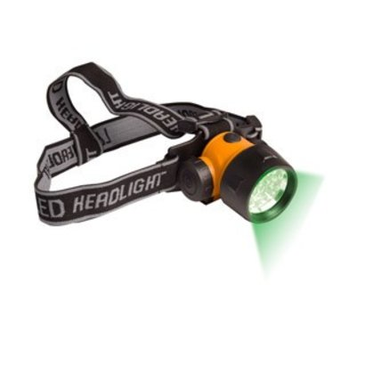 Active Eye Green LED Head Light, 17 LED