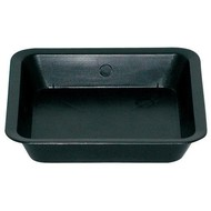 Gro Pro Black Square Saucer for 5 Gallon Pot