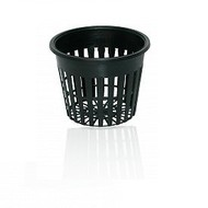 "Hydrofarm Net Pot Black 3"" single"