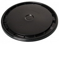 Hydrofarm 5 Gallon Bucket Lid, Black