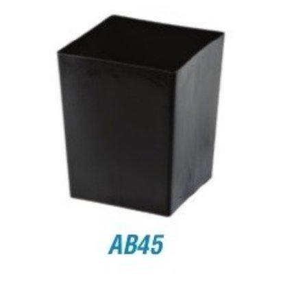 "Anderson Pot Square 4"" x 3-1/2"" Deep"