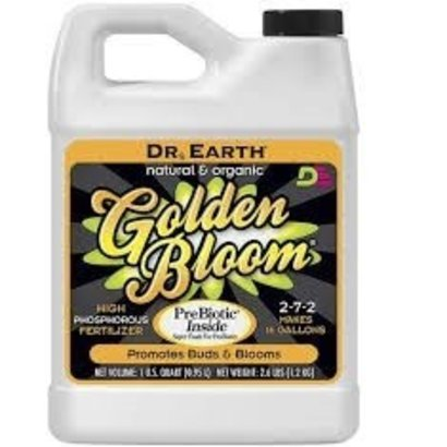 Dr. Earth Dr Earth Golden Bloom Quart