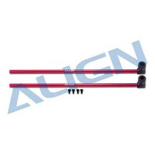 AGN 150 Tail Boom Red