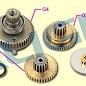 AGN Ds650 Gear Set