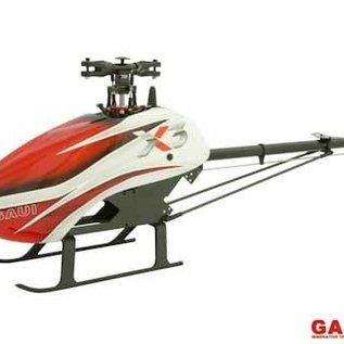 GAUI Gaui X3 W/cnc Tail Grips