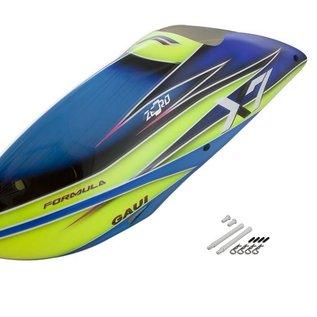 GAUI Gaui X7 Formula Canopy Blue