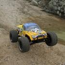 ECX Ruckus 1/10 4wd Mt Bl, Avc Rtr