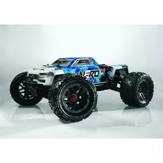 ARA AR106011 Nero 6S BLX 1/8 4WD MT w/Diff Brain RTR Blue