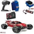 TRA Rustler 2wd RTR VXL with TSM RED