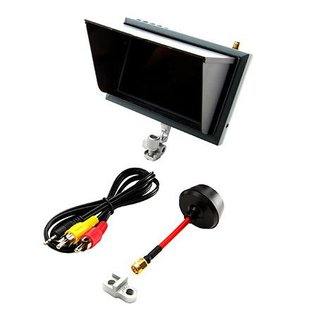 SPM Spektrum 4.3 inch video monitor, sunshade, mount