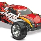 TRA RUSTLER 1/10 STADIUM TRUCK RTR 2.4GHZ TITAN 12T WATERPROOF red