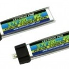 Lectron Pro 3.7V 220mAh 45C Lipo Battery 2-Pack