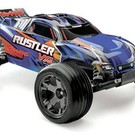 TRA Rustler VXL(blue): 1/10 Scale Stadium Truck with TQi Traxxas Link Enabled