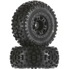 "PRO 1182-21 Badlands SC 2.2""/3.0"" M2 Tires Mounted Fr Wheel sl 2wd"