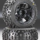 "PRO 1178-11 Badlands 3.8"" All Terrain Tires Mntd Fr/Re"