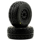 "PRO 1167-17 Street Fighter SC 3.0"" Renegade Blk Whls (2)"