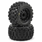 "PRO 10125-14 1/10 Badlands MX28 2.8"" Tires Mounted Fr/Re"
