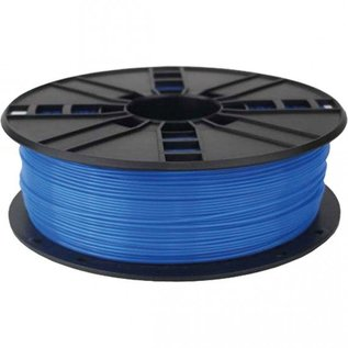 3d printer pla filament fluorescent blue