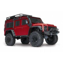 TRA Trx4 Crawler w/XL5 HV Red