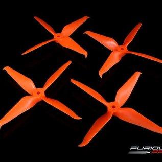 Furious FPV RageProp 5042-4 Race Edition Propeller (2CW - 2CCW) - Orange