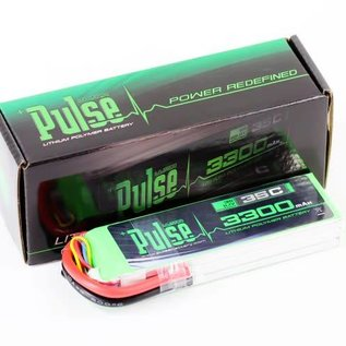 PULSE 3300mAh 3S 11.1V 35C - LiPo Battery