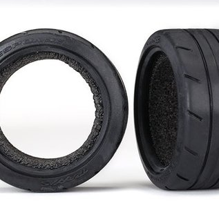 Tires, Response 1.9' Touring (extra wide, rear)/ foam inserts (2) (fits #8372 wide wheel) -
